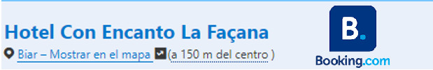 LA FAÇANA BOOKING